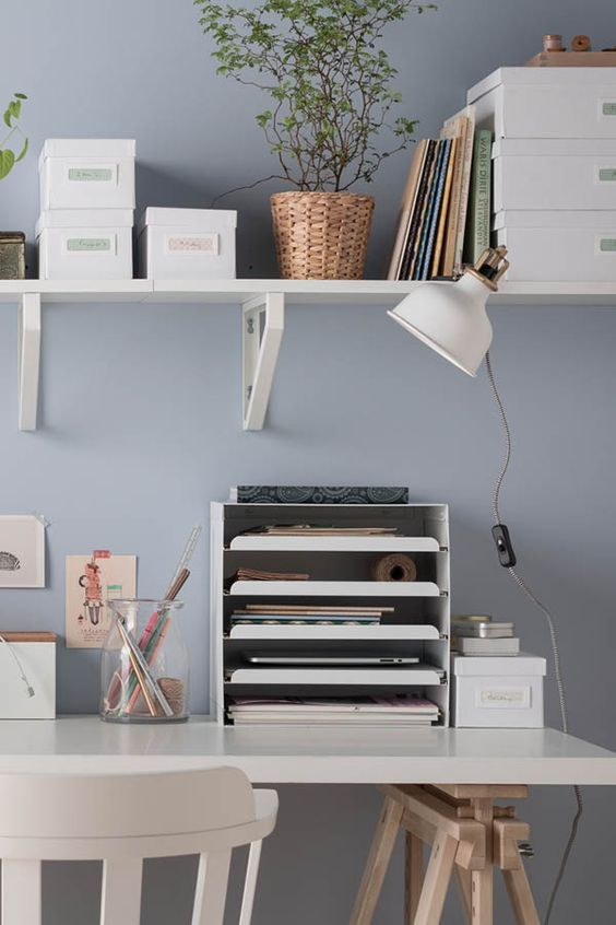 Ikea shelf scandi design